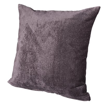Sola Throw Pillow Size: 26, Color: Meteor