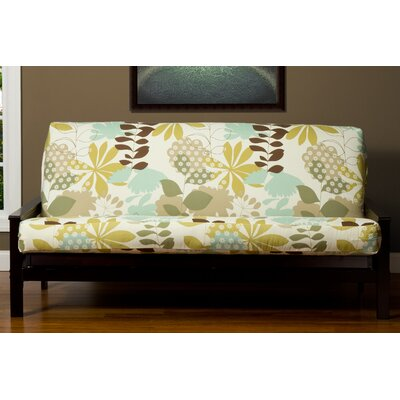 Arciniega Zipper Box Cushion Futon Slipcover Size: 7 in. Full