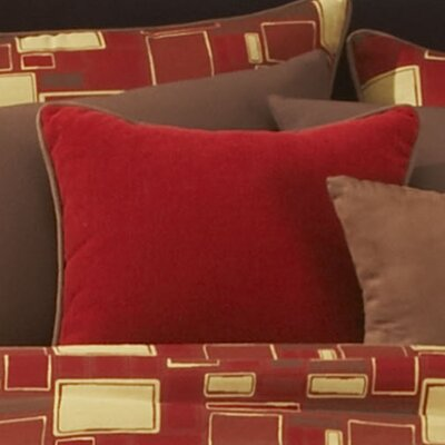 Dillard Throw Pillow Size: 20, Color: Orange Peel