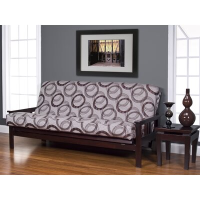 Armas Box Cushionfuton Slipcover Size: Twin