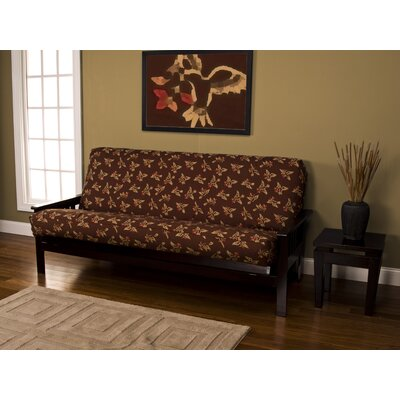 Zipper Box Cushion Futon Slipcover Size: Twin