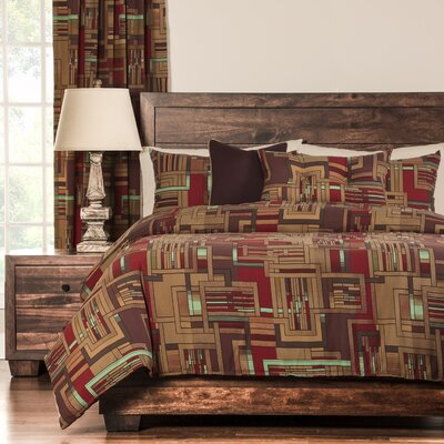 Dean Reversible Duvet Set Size: King