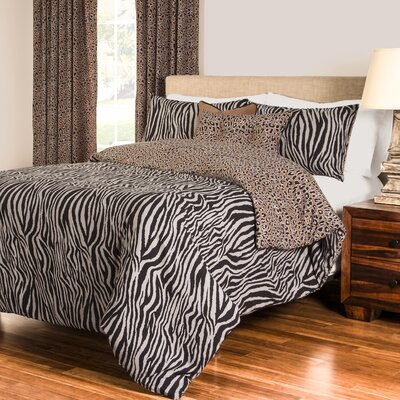 Elizabella Duvet Cover Set Size: Twin