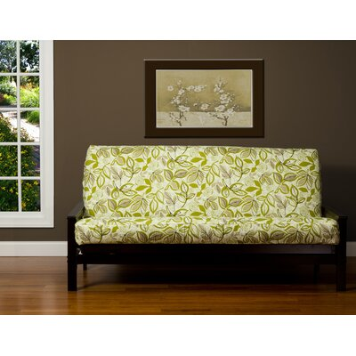 Candace Box Cushion Futon Slipcover Size: 6 in. Full