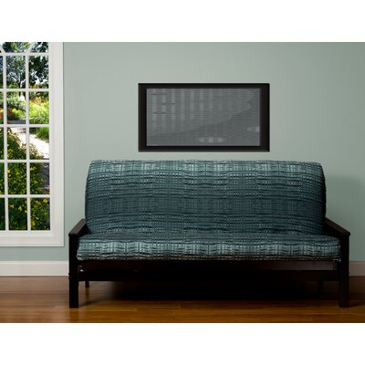 Marisol Zipper Box Cushion Futon Slipcover Size: 7 in. Full
