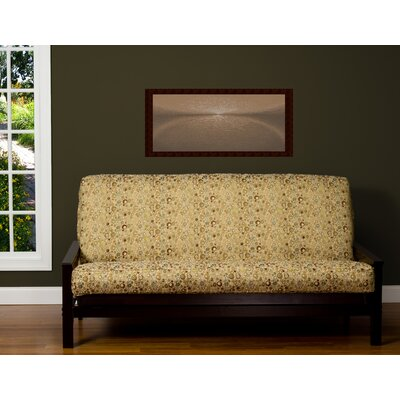 Dolores Box Cushion Futon Slipcover Size: 6 in. Full