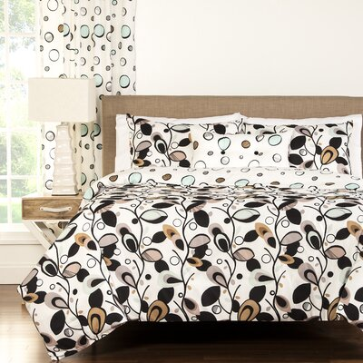 Arner 3 Piece Reversible Duvet Cover Set