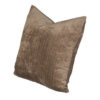 Throw Pillow Size: 16, Color: Vintage Wheat