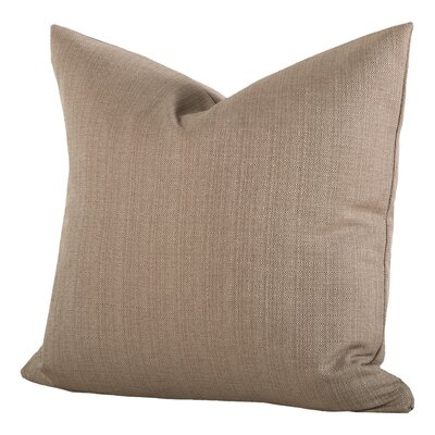 Linen Pillow Size: 20, Color: Flax