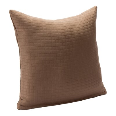 Skyler Throw Pillow Size: 16, Color: Mocha Mousse