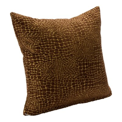 Cade Square Pillow Size: 20, Color: Bronze