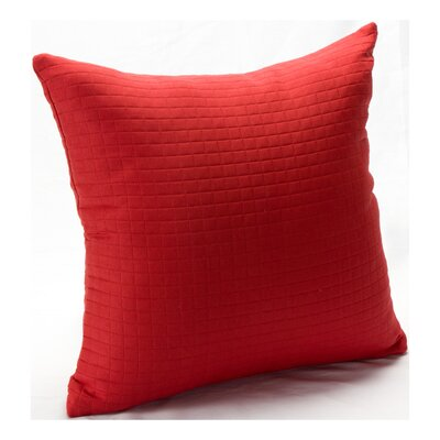 Skyler Throw Pillow Size: 16, Color: Tomato Puree