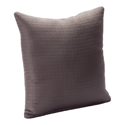 Skyler Throw Pillow Size: 16, Color: Charcoal Gray