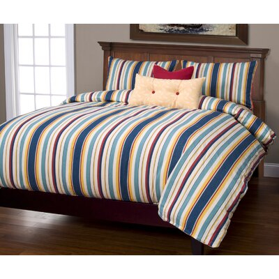 Anton Duvet Cover Set Size: King, Color: Nautical