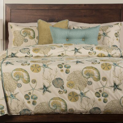 Swindon Duvet Cover Set Size: California King, Color: Ocean