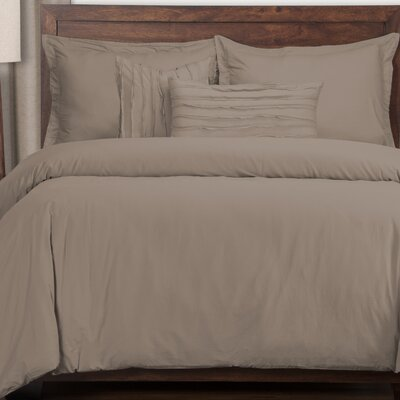 Artlone 6 Piece Duvet Cover Set Color: Haze