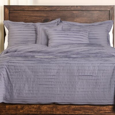 Tattered Duvet Cover Set Size: Full, Color: Lavender