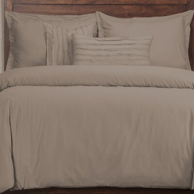 Artlone Haze 6 Piece Duvet Cover Set Color: Haze, Size: King