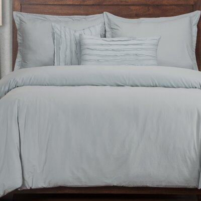 Artlone 5 Piece Duvet Cover Set Color: Blue
