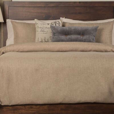 Abner Duvet Set Size: King, Color: Sand