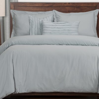 Artlone 6 Blue Piece Duvet Cover Set Color: Blue, Size: King