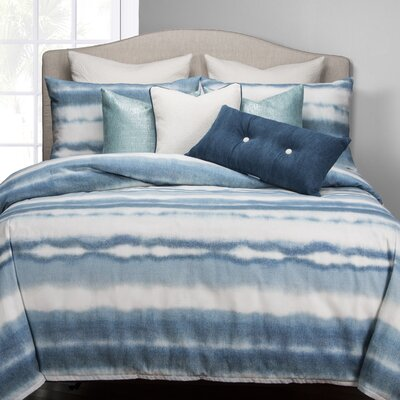 Beach Bum Duvet Cover Set Size: Full