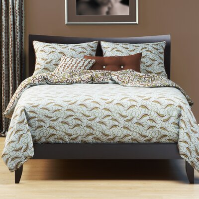 Bluebird Hill Duvet Cover Set Size: Queen
