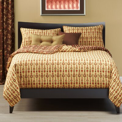 Chainlink Duvet Cover Set Size: Full