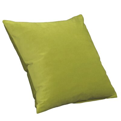 Posh Square Pillow Size: 16, Color: Jet Set
