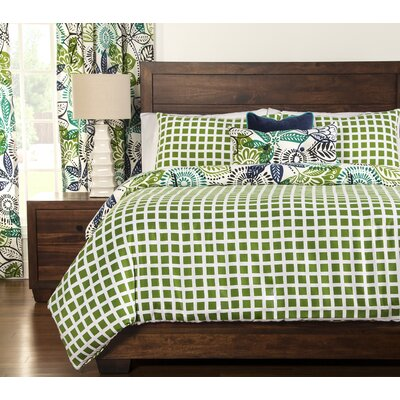 Arguello Duvet Cover Set Size: King