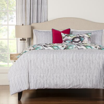 Argueta Duvet Cover Set Size: King