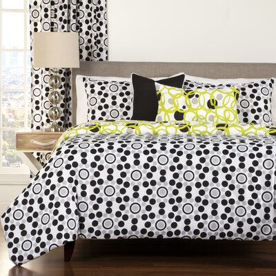 Full Circle Duvet Cover Set Size: Queen
