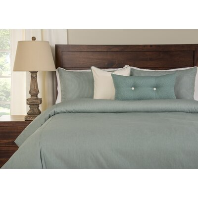Breezy Stripe Duvet Cover Set Size: Queen