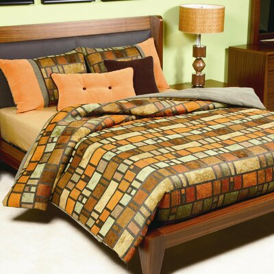 Delmar Duvet Cover Set Size: California King