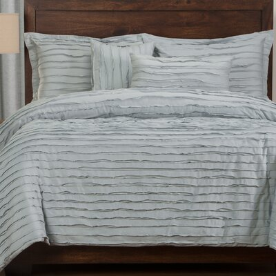 Tilda 6 Piece Duvet Cover Set Size: Full, Color: Blue