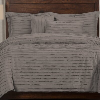 Tilda 6 Piece Duvet Cover Set Size: Full, Color: Haze