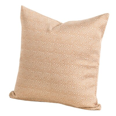 Liza Throw Pillow Size: 26 H x 26 W x 6 D, Color: Rope