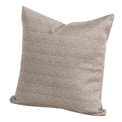 Liza Throw Pillow Size: 26 H x 26 W x 6 D, Color: Citrus