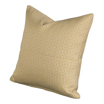 Halina Throw Pillow Size: 16 H x 16 W x 6 D, Color: Mustard