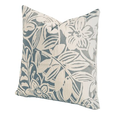 Karina Throw Pillow Size: 26 H x 26 W x 6 D, Color: Lagoon