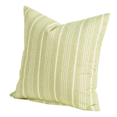 Pierre Throw Pillow Size: 16 H x 16 W x 6 D, Color: Apple