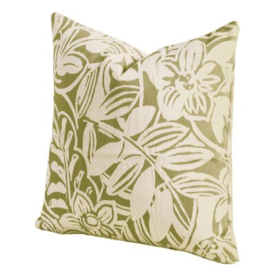 Karina Throw Pillow Size: 16 H x 16 W x 6 D, Color: Grass