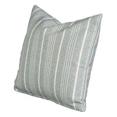 Aqueduct Throw Pillow Size: 26 H x 26 W x 6 D, Color: Teal