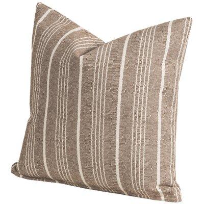 Pierre Throw Pillow Size: 20 H x 20 W x 6 D, Color: Citrus
