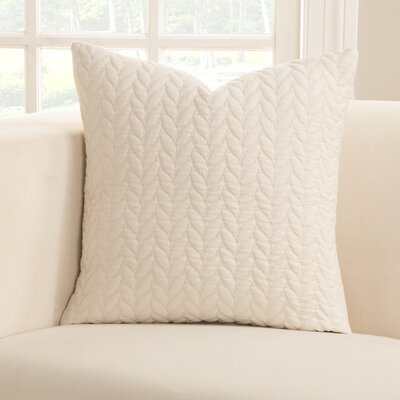 Whitecap Throw Pillow Size: 16 H x 16 W x 6 D