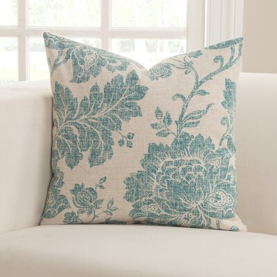 Arbor Glen Everbloom Indigo Throw Pillow Size: 26 H x 26 W x 6 D