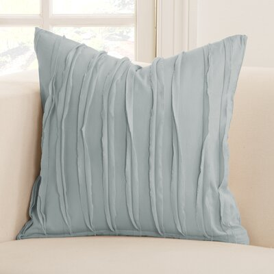 Tattered Throw Pillow Size: 20 x 20, Color: Blue