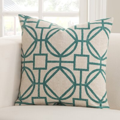 Nolo Throw Pillow Size: 20 X 20, Color: Nolo Turquoise