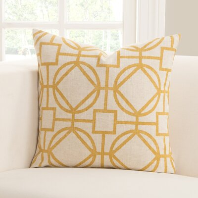Nolo Throw Pillow Color: Nolo Lemon, Size: 16 X 16