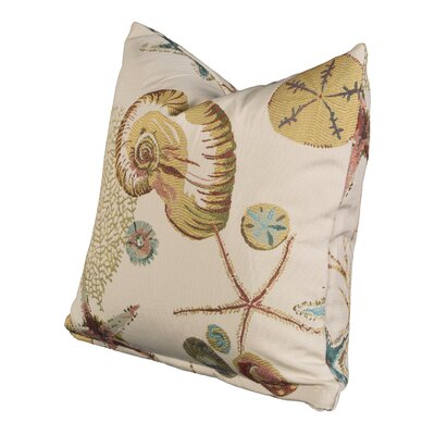 Naples Throw Pillow Size: 16 H x 16 W x 6 D